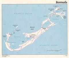 Tourist map of Bermuda Bermuda mappery