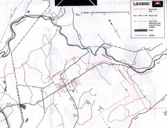 Bethlehem NH Snowmobile Trail Map