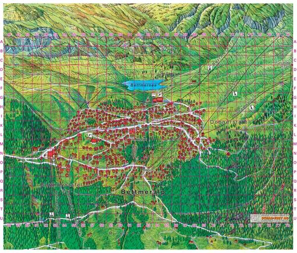 Bettmeralp Summer Map Bettmeralp Switzerland mappery