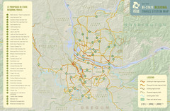 Bi-State Regional Trail System Plan Map
