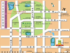 Biejing Tourist Map