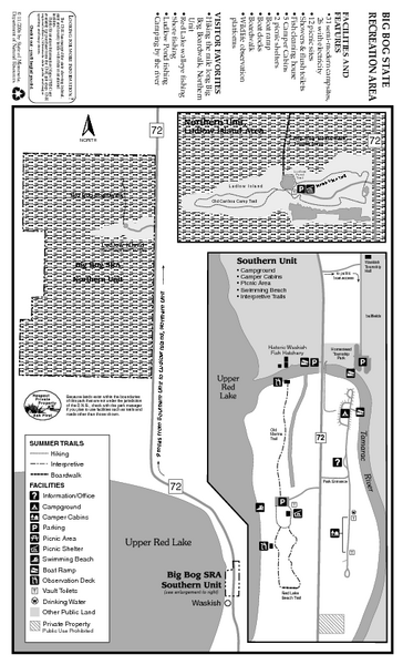 Big Bog State Park Map
