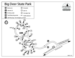 Big Deer State Park map