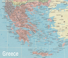 Big Greece Map