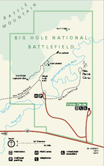 Big Hole National Battlefield Official Map
