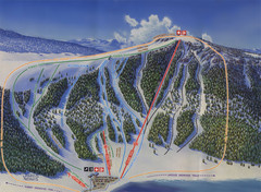 Big Horn Ski Resort Ski Trail Map