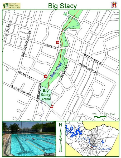 Big Stacey Park Map