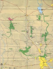 Big Thicket National Reserve Map