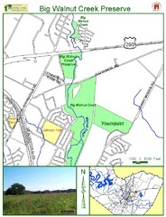 Big Walnut Creek Greenbelt Map