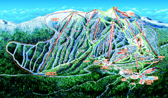 Big White Ski Resort Ski Trail Map
