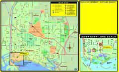 Csu Long Beach Campus Map Csu Long Beach Long Beach Ca Mappery