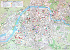 Bilbao Tourist Map