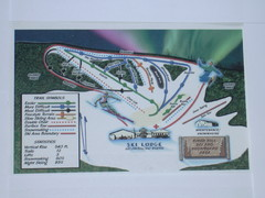 Birch Hill Ski Trail Map