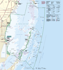 Biscayne National Park Official Map