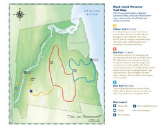 Black Creek Trail Preserve Map