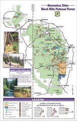 Black Hills National Forest Guide Map