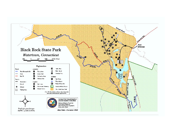 Black Rock State Park trail map