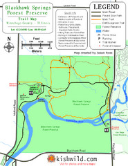 Blackhawk Springs Forest Preserve Map