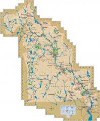 Blackstone Valley tourist map