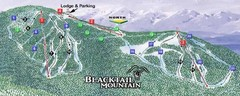 Blacktail Mountain Ski Area Ski Trail Map