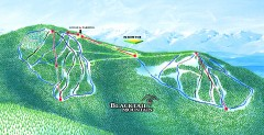 Blacktail Mountain Ski Trail Map