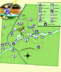 Blackwater River State Park Map