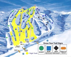 Blandford Ski Trail Map