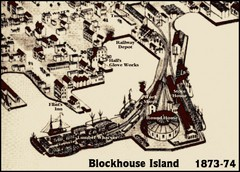 Blockhouse Island Map 1874
