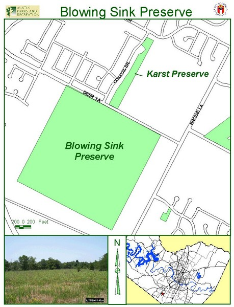 Blowing Sink Preserve Map