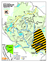 Blue Mountain Reservation Mountain Bike Trail Map