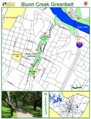 Blunn Creek Greenbelt Map