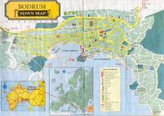 Bodrum Town Map