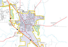 Boerne City Map