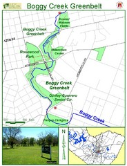 Boggy Creek Greenbelt Map