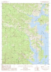Bohemotash Mountain Quad - Shasta Lake Map