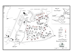 Bomoseen State Park map