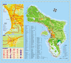 Bonaire Island Tourist Map