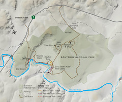 Bontebok National Park Map
