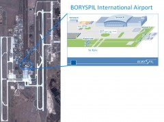 Boryspil International Airport Map