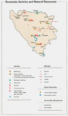Bosnia and Herzegovina Economic Activity Map