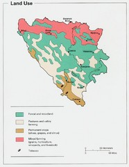 Bosnia and Herzegovina Land Use Map