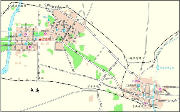Boutou Tourist Map
