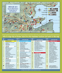Bownen Island Tourist Map