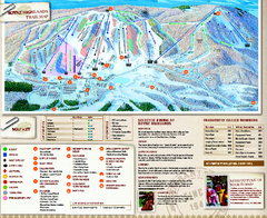 Boyne Highlands Ski Trail Map