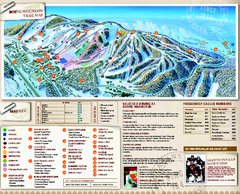 Boyne Mountain Ski Trail Map