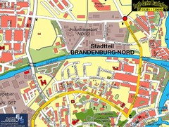 Brandenburg an der Havel Map