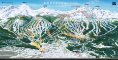 Breckenridge Ski Area Trail Map 2005-06