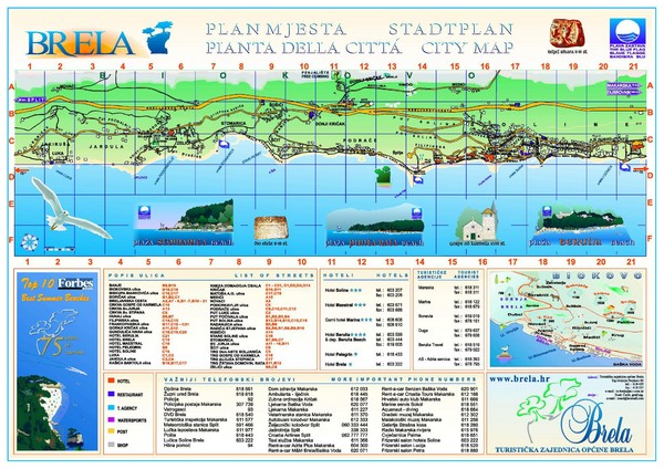 Croatia maps mappery – Croatia Tourist Map
