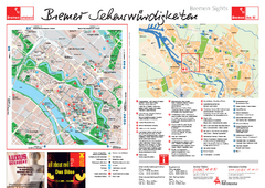 Bremen Tourist Map