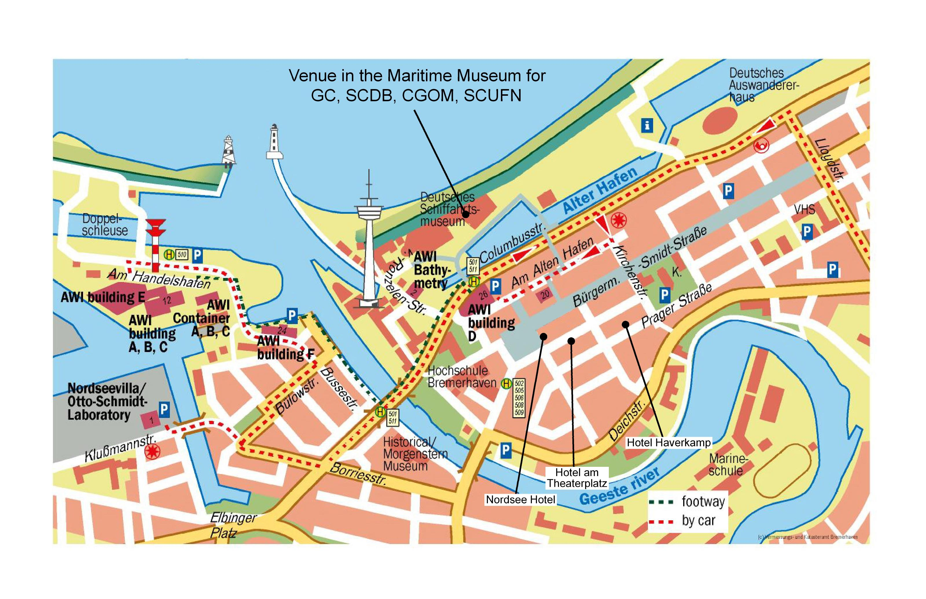 Bremerhaven City Map Bremerhaven Germany mappery